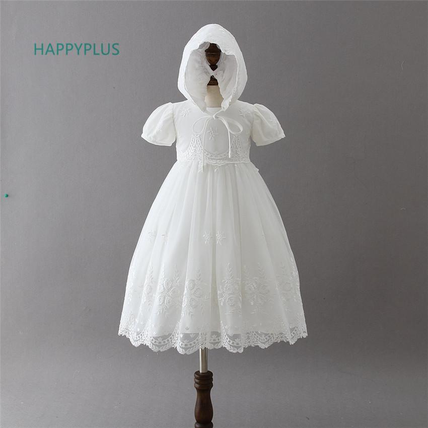 Baby Girl Boda Bautizo Cumpleaños Ropa Formal Vestido De Encaje oufit 3-18 Meses