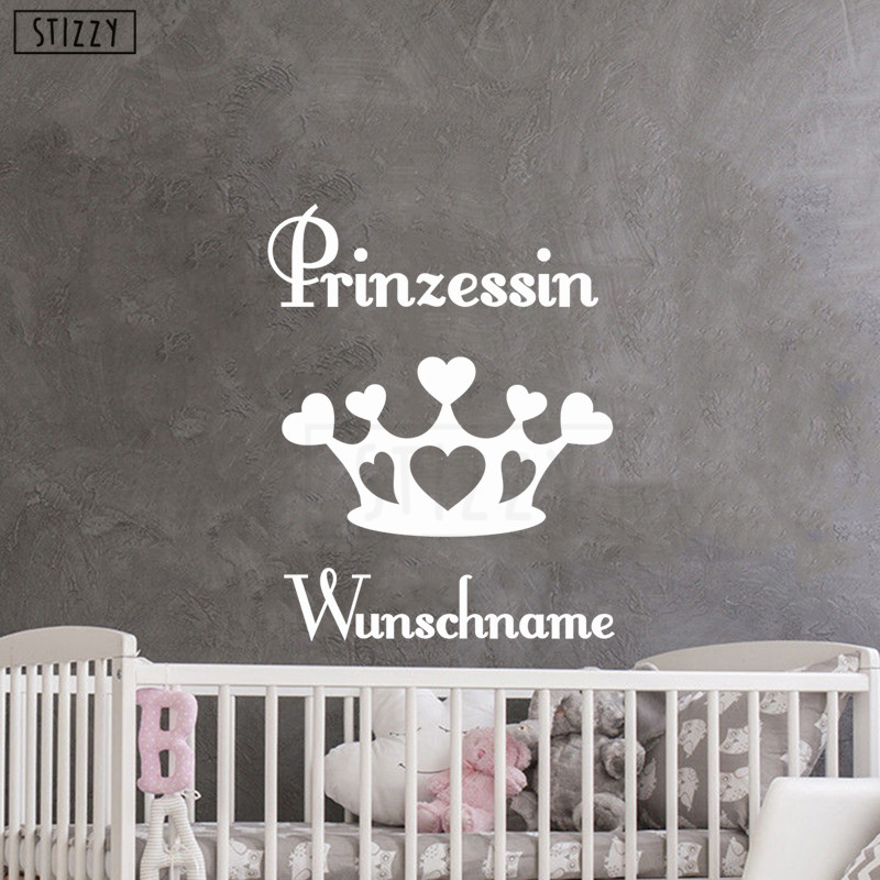 Princess Nursery Prints Girl Wall Art Pink Gold Damask Kids Castle Tiara Room