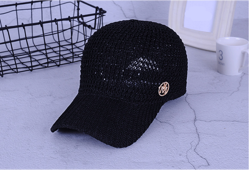 5cb85f24b Ladies Summer Mesh Snapback Baseball Caps Breathable Letter M Equestrian  Cap For Women Girls Sun Hat Bone Casquette Visor Hats Boater Hat From ...