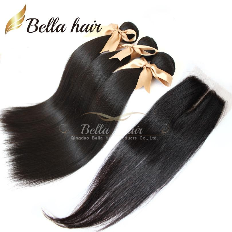 bundle hair with closure