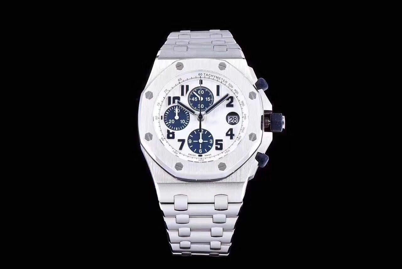 Orologi Designer Del Tempo jf super-2 26170 montre de lusso 42 * 16 millimetri asia7750 movimento  completamente automatico orologi 316l acciaio fine designer orologi  funzione di