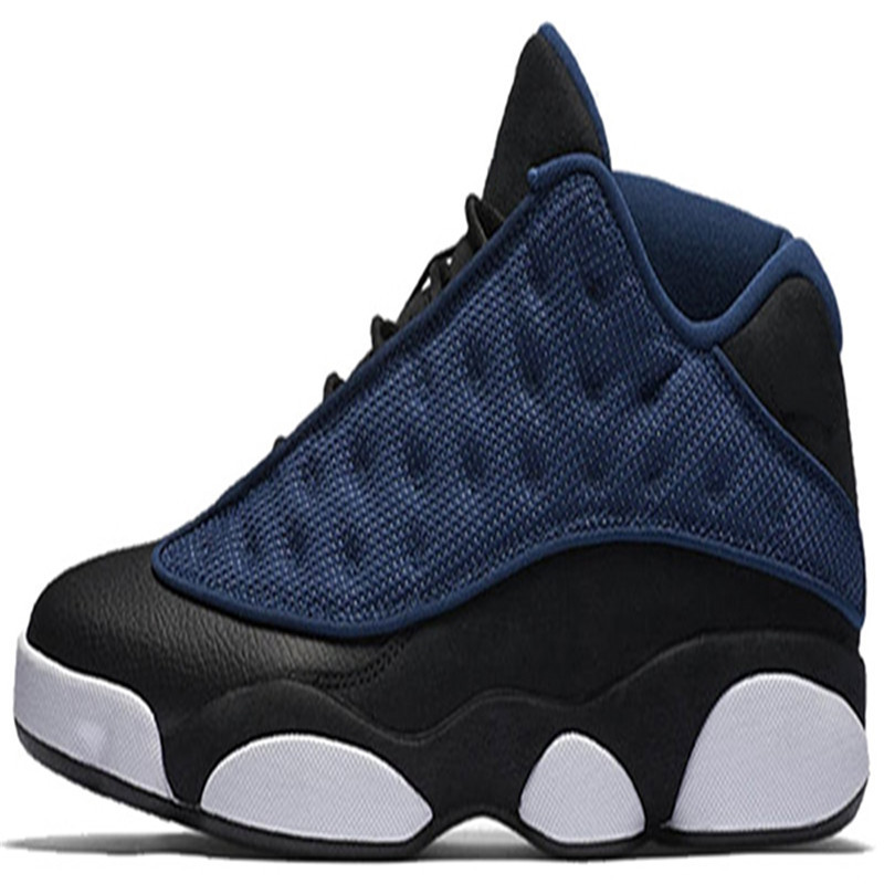 Wholesale 13 13s basketball shoes Phantom Flight Navy blue Barons red Men Basketball men Sports Sneakers tennis scarpe