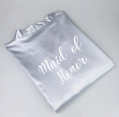 grey maid of honor