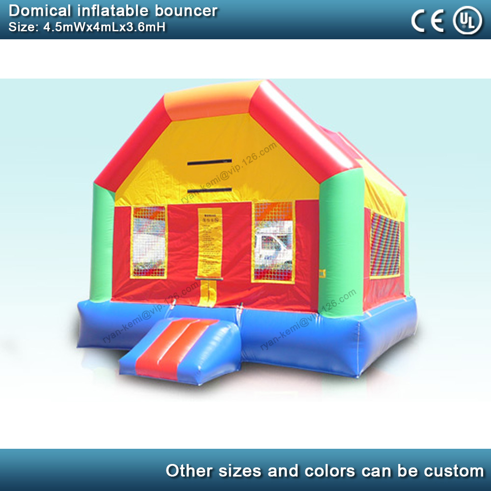 Domical inflatable bouncer commercial inflatable castle kids bounce house party yard inflatable with blower 3