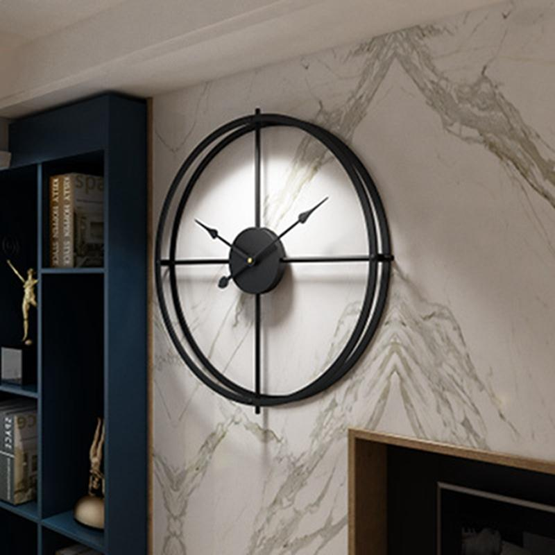 2019-Creative-Wall-Clock-Modern-Design-For-Home-Office-Decorative-Hanging-Living-Room-Classic-Brief-Metal