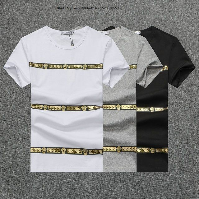 Automne Nouveau Modèle Homme À Manches Courtes T-shirt Tendance Jeunes Mince Hommes Porter Des Vêtements Haut2020