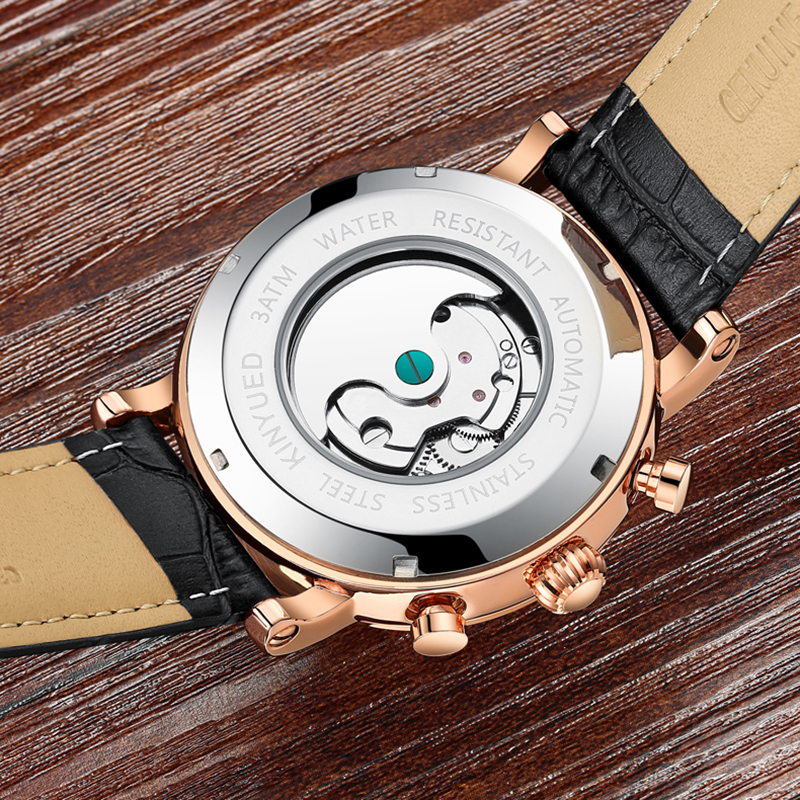 Precise Mechanical Automatic Mens Watch Flying Tourbillon Leather Waterpoof Business Watches Office Party Sport Daily Life Gift (13)