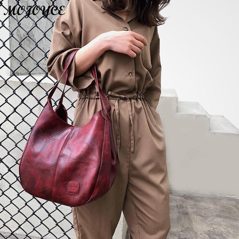 Borsa a mano vintage da donna Borse moda di lusso Borse a spalla da donna Designer di marca Donna Borse a tracolla Sac a Main Mujer Y190619