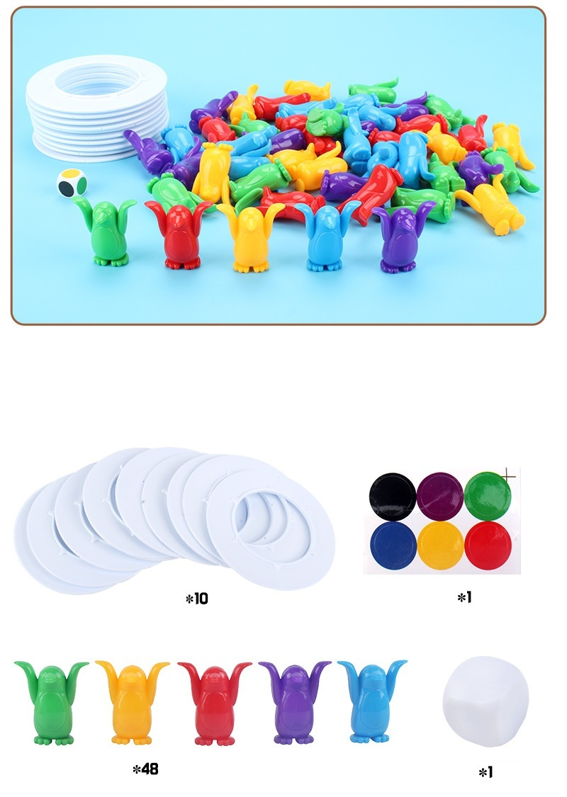 Children Toys Desktop Game Balance Toy Challenge Tower Stacked Parent-Child Interactive Board Game Intelligence Toys For Kids (7)