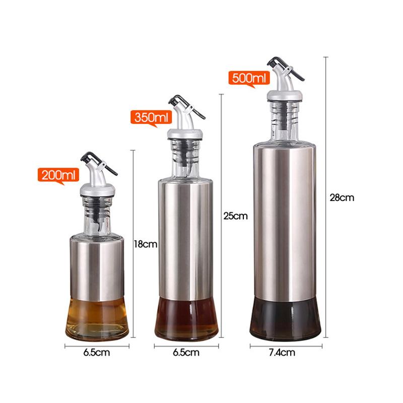 3 trous Squeeze Bottle Condiment Distributeur de vinaigre Ketchup salière poivrière Bin 12//16//24oz