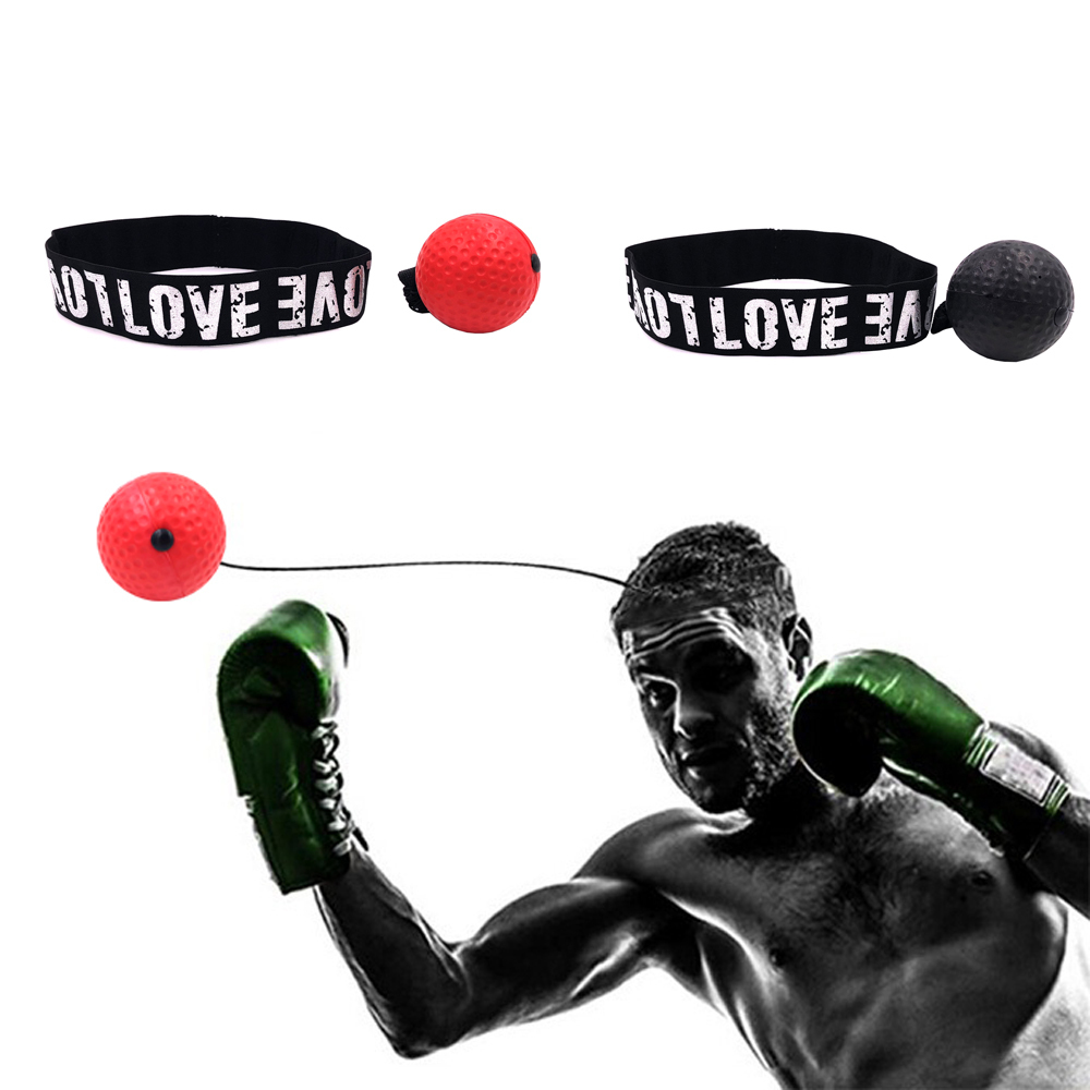 Boxing Reflex Speed Punch Ball Training Coordination Reaction Exercise Equipment