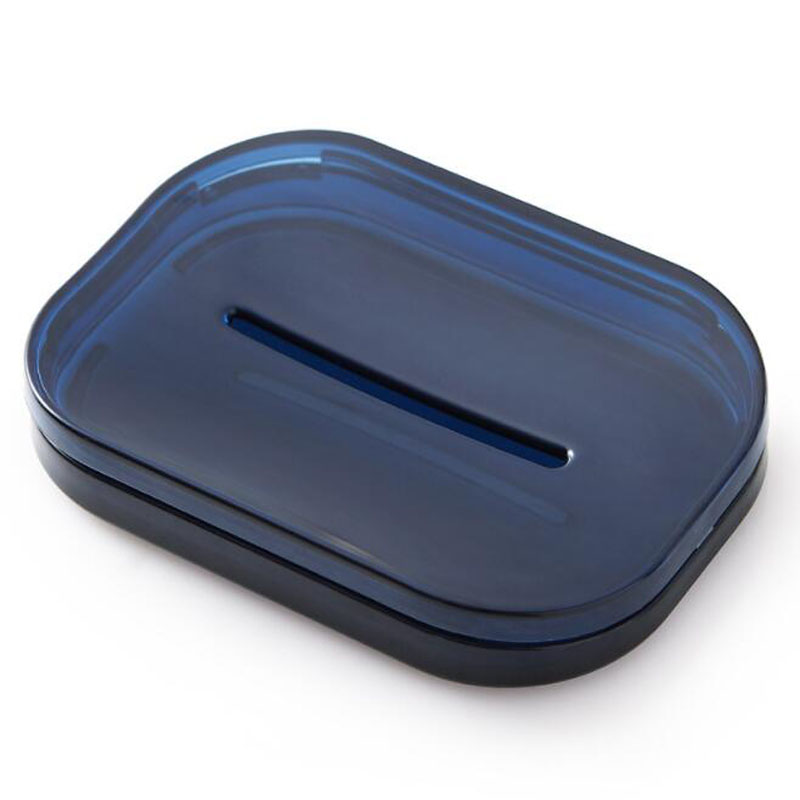 charts/_DRESS Leaf Shape Soap Dishes Box,Decorative Self Draining Soap Holder Not Punched Bar Soap Holder,Soap Sponge Storage Container Soap Caddy Tray Drainers for Kitchen /& Bathroom Blue