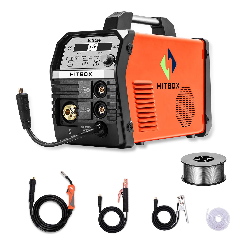 wiring up a 220v welding machine 2020 hitbox mig welder 200amp 220v inverter mig arc lift tig gas  2020 hitbox mig welder 200amp 220v