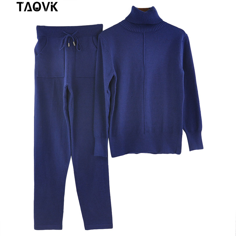 lined knit suit real photo (7)
