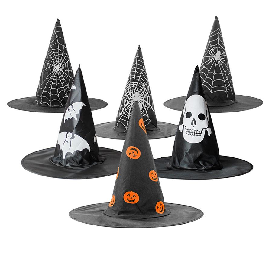 2Pcs Hexe Kostüm Kinder Mädchen Jungen Halloween Kostüm Outfit Zaubererhut