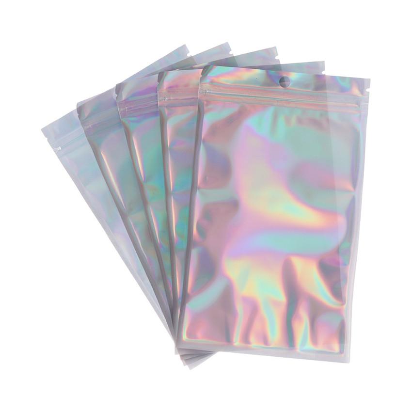 "10 bolsas de correo de lámina holográfica Oro Metálico 9/"" X 12.5/"""