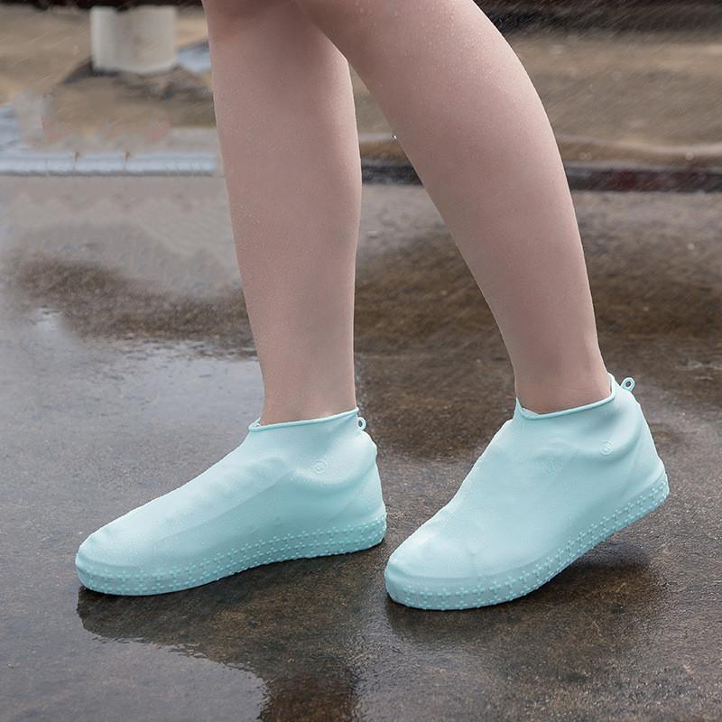 Chaussure De Silicone Couvre-Chaussures De Pluie R/éutilisables Couvre Slip Pluie R/ésistant N/écessaires /à Chaussures pour Randonn/ée /à V/élo XL Noir 1pair