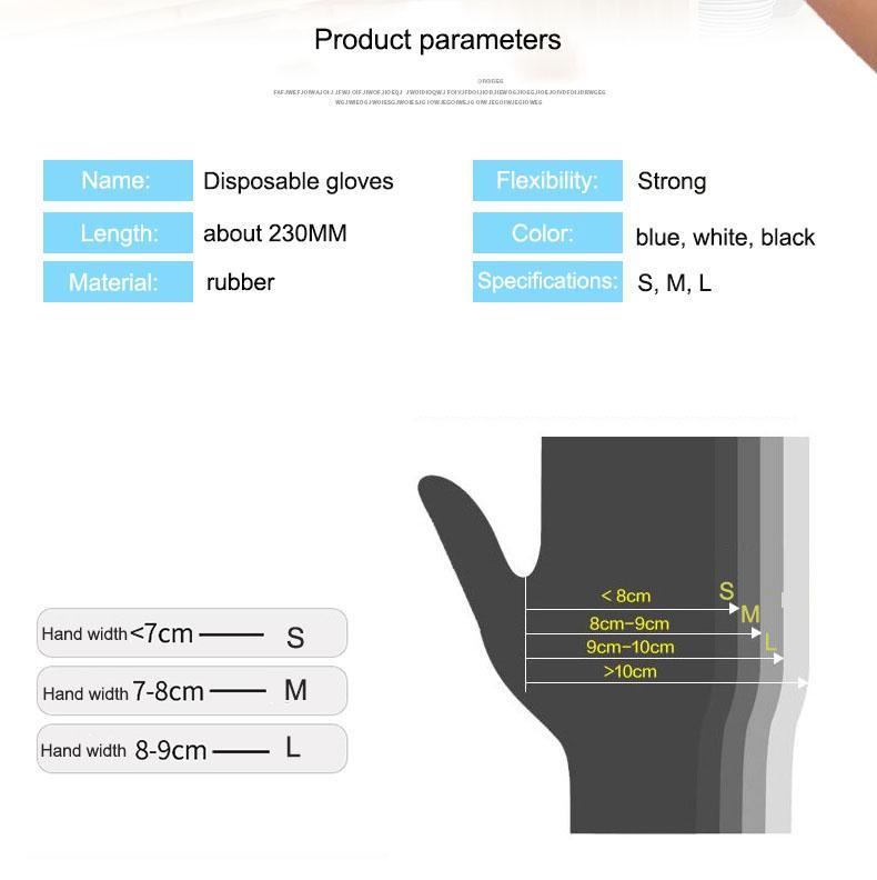 Latex gloves 5