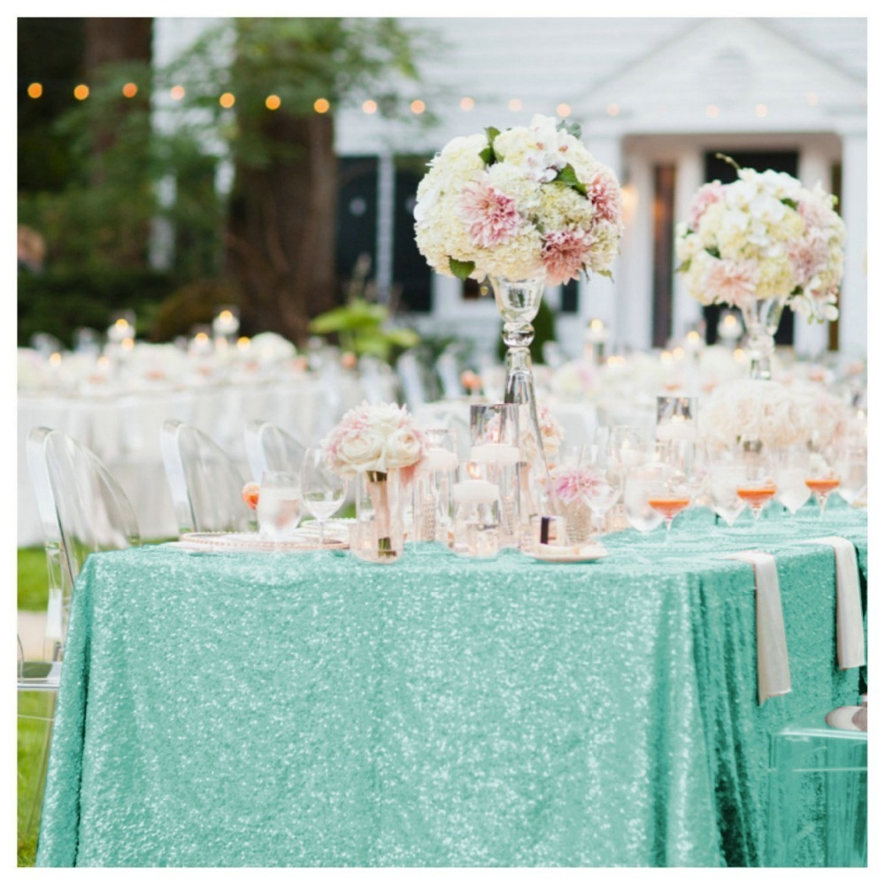 sequin tablecloth007