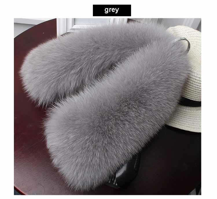 fox fur collar grey 1