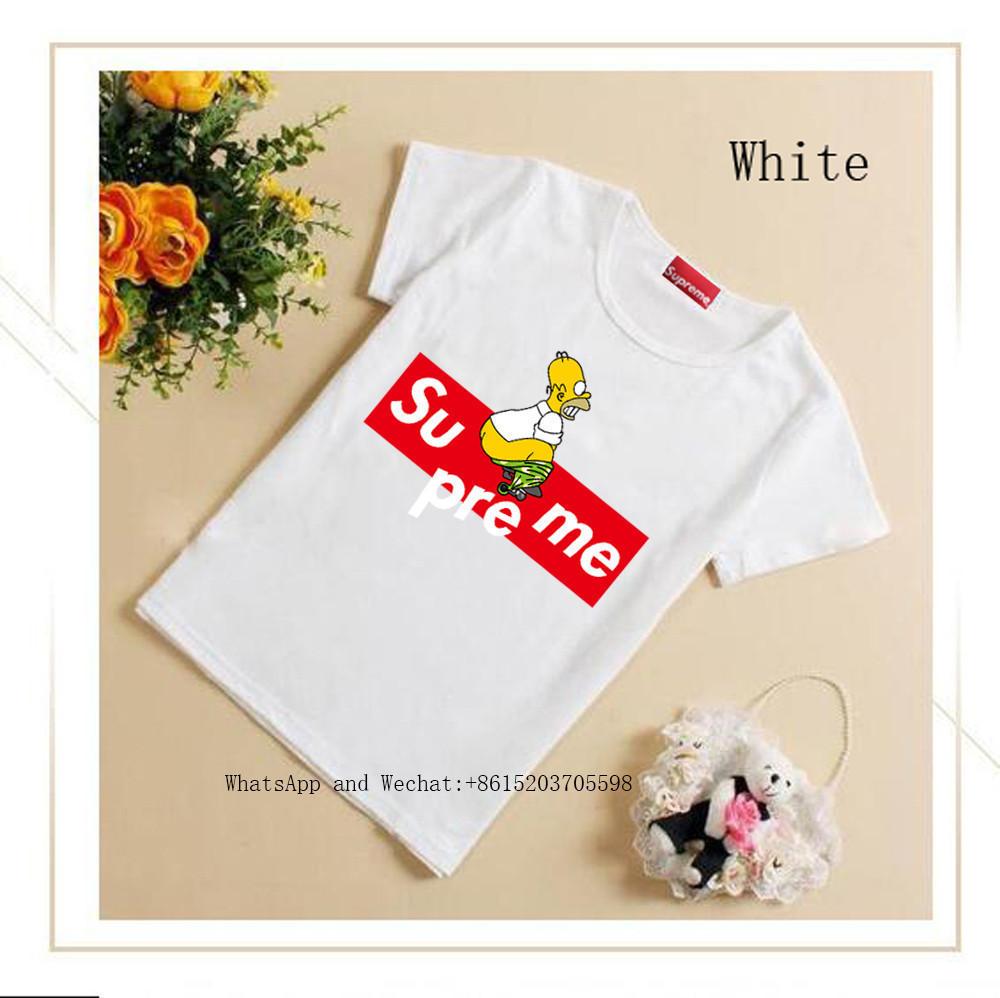 T niedlich T-shirt Kurzarm 2019 Neue Muster Mädchen Jacke Reiner Baumwolle Baby Sommer Dünne halbe hülse Schulter Hemd