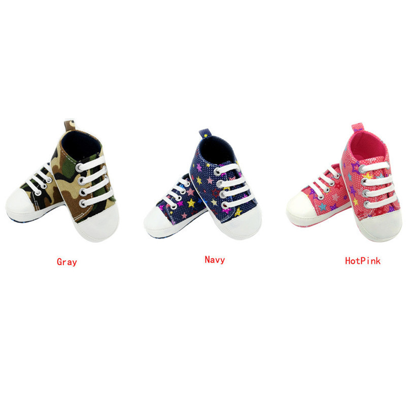 Baby Shoes Sneaker Anti-slip Soft Sole Toddler Colorful Canvas Shoes NDA84L16 (2)