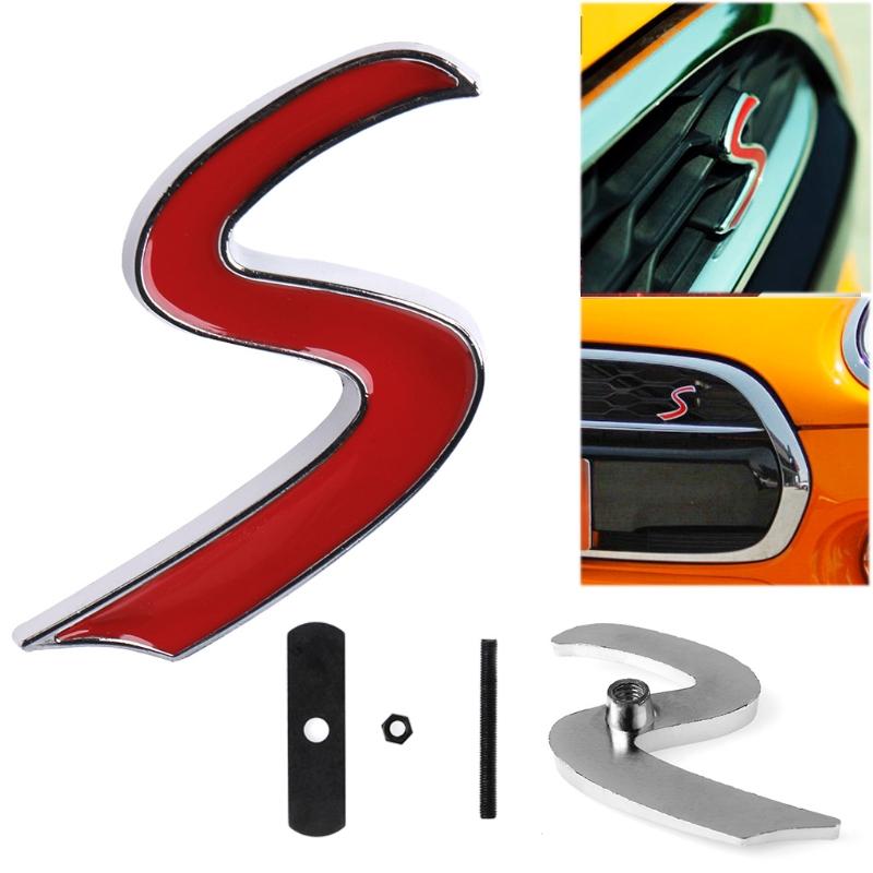 DDDXF Insignia del Emblema De La Parrilla Delantera FR De Metal Cromado 3D Etiqueta Engomada De La Cola del Guardabarros Lateral del Coche Calcoman/ía FR para Seat Ibiza Altea Leon Bodystickers