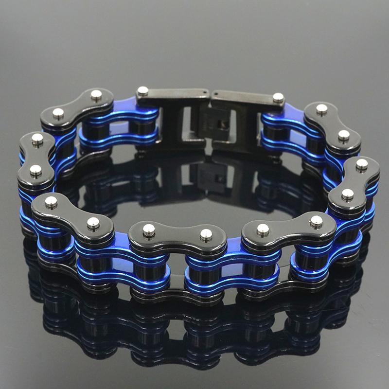 motorcycle chain bracelet 02