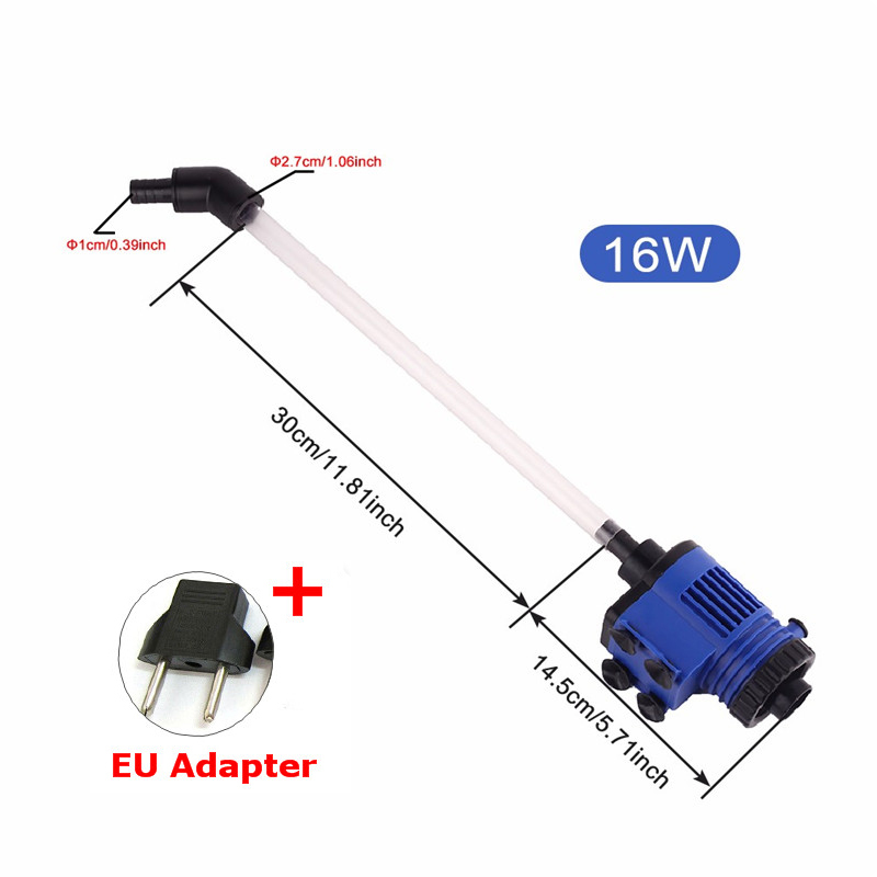 Automatic Aquarium Water Changer Clean Vacuum Water Change Gravel Pump Fish Feces Siphon Sand Washer Filter Fish Tank Cleaner18