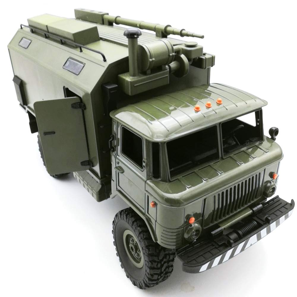 High Quality WPL B24 ZH GASS 66 1/16 2.4G 4WD Rc Car Military Truck Rock Crawler RTR Toy For Kids Toys Childrens Gift