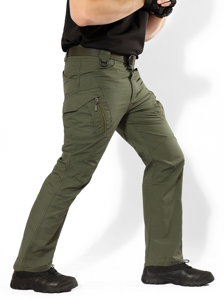 Мужчины Ix9 Город Тактические Брюки-Карго Мужчины Combat Army Военные Брюки Хлопок Multi Карманы Стрейч Гибкие Повседневные Брюки Мужчины 5xl Y19042201