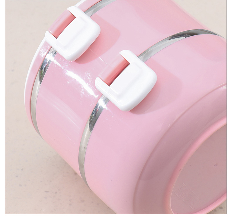 304 stainless steel multi-layer insulated lunch box 35