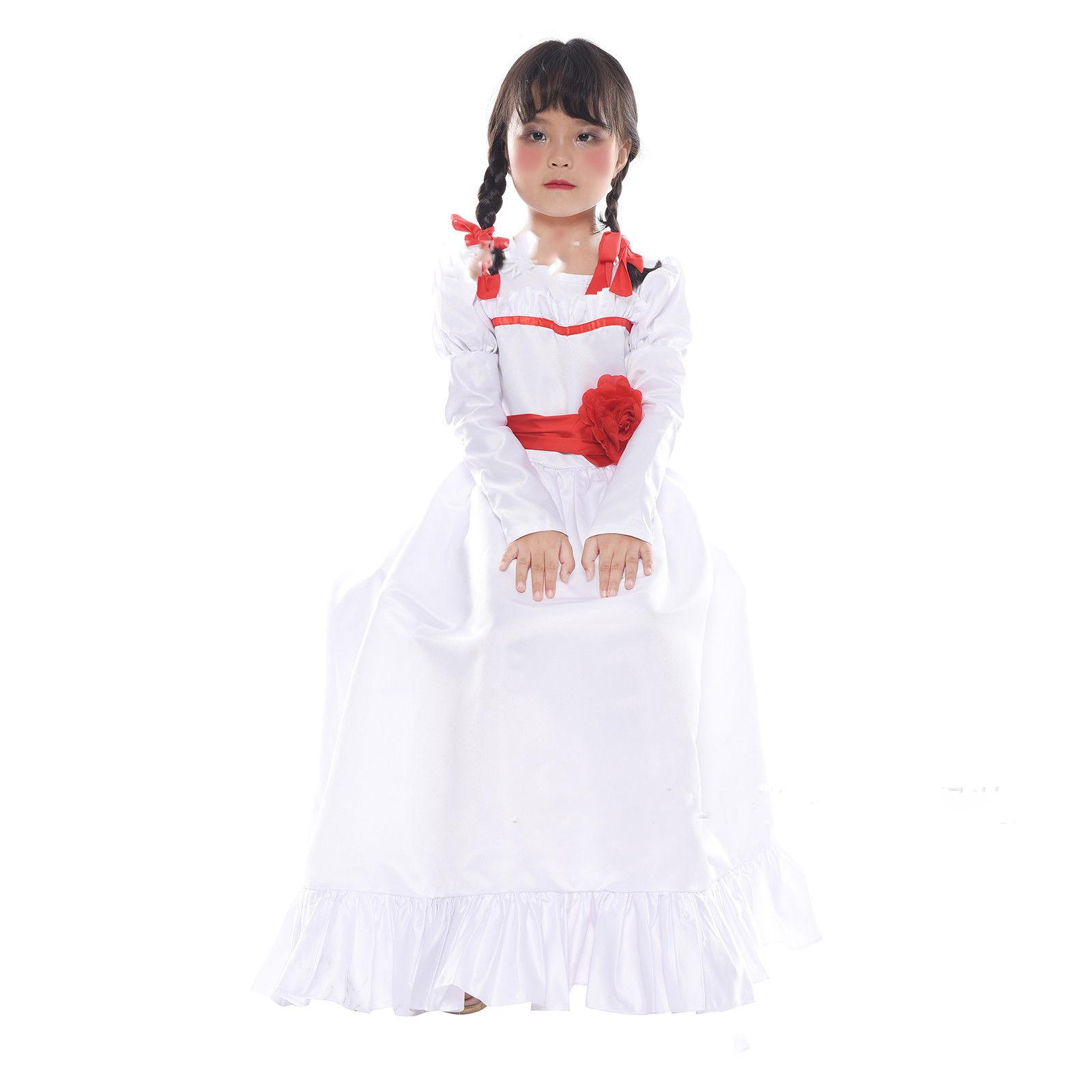 BROKEN DOLL GIRLS COSTUME Halloween Cosplay Fancy Dress G10