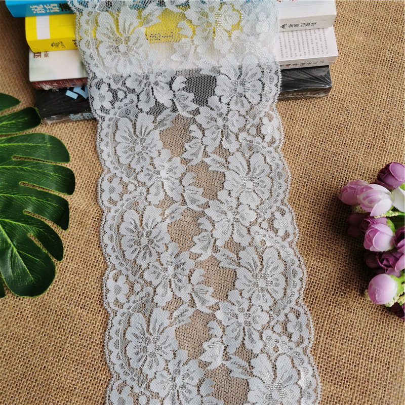 Baby Blue Net Lace Mesh  Ribbon Xmas Decorations Crafts 1 metre