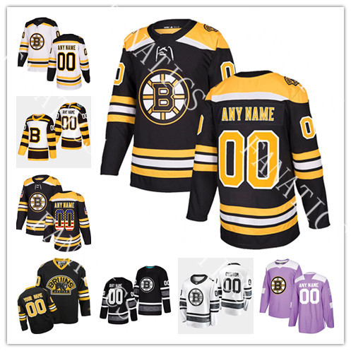 63 Brad Marchand Jersey Boston Bruins 88 David Pastrnak 37 Patrice Bergeron 46 David Krejci 74 Jake DeBrusk Mens Womens Youth Jersey