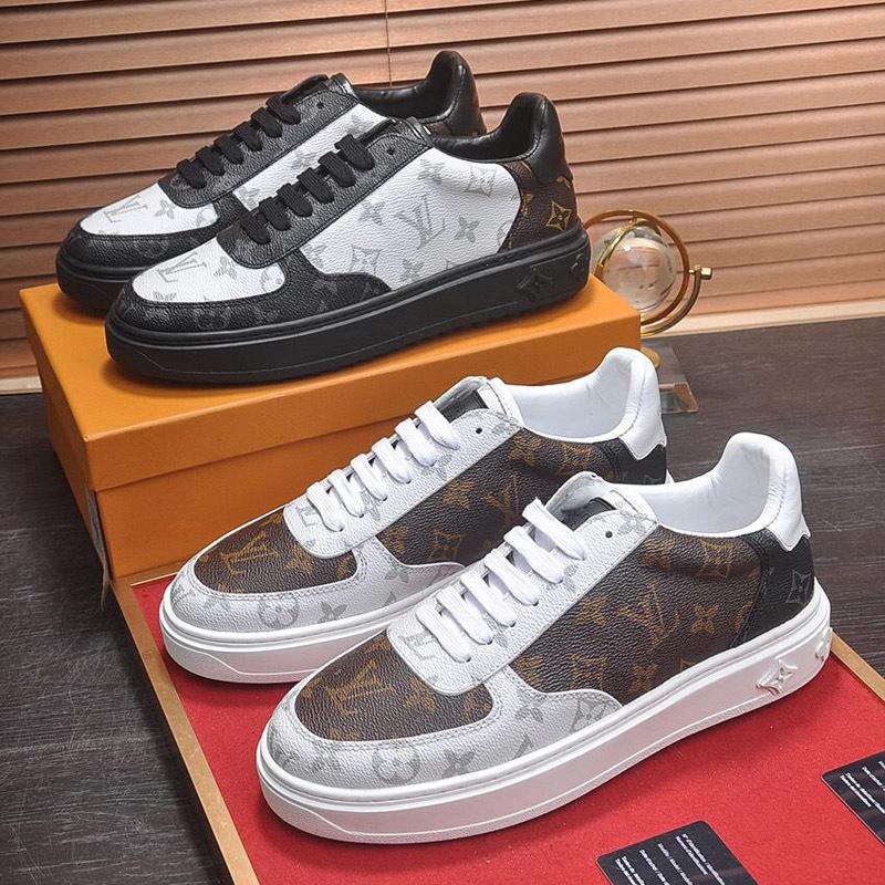2019QZ nouvelles chaussures de sport occasionnels s les hommes, le printemps et l'automne à faible chaussures de sport de plein air voyage d'aider les hommes de luxe, boîte d'emballage d'origine delive rapide