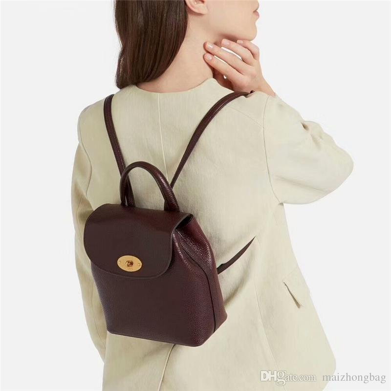 Chegada nova das mulheres designer de mochila de boa qualidade mochilas de couro genuíno sacos de marca de luxo de alta qualidade 1,1 star mesmo estilo AAA