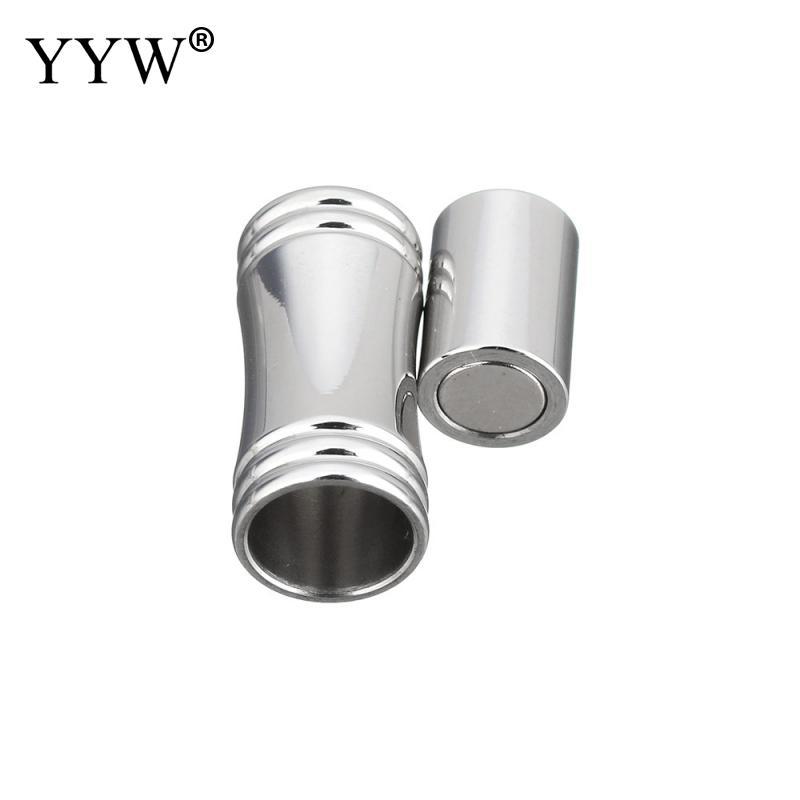 Colore originale Forti catenacci magnetici Collana bracciale in acciaio inossidabile Catenacci terminali Connettori Creazione di gioielli