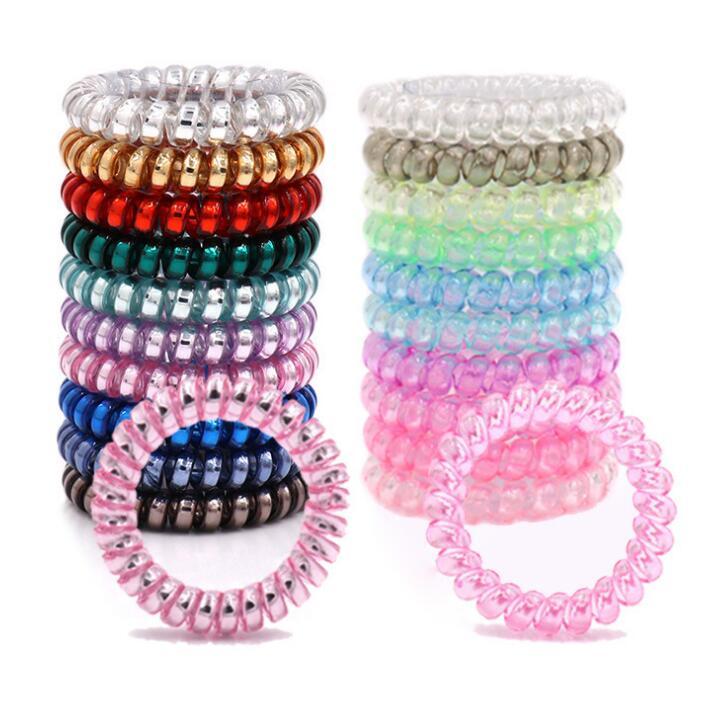 Vocheng 5 Candy Couleurs hairgrips 18 mm Snap Charm Pince à Cheveux Pour Filles NN-397