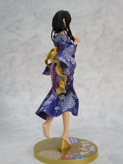 Yukinoshita Yukino anime model figure My youth romantic comedy is wrong as I expected kimono Ver. sexy dolls figurine (3)