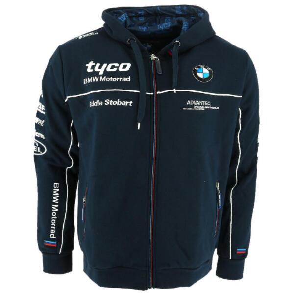 2019Nuova Honda-HRC-Racing-Mens-Zipper-Cappuccio-Moda-Giacca-Felpa con cappuccio