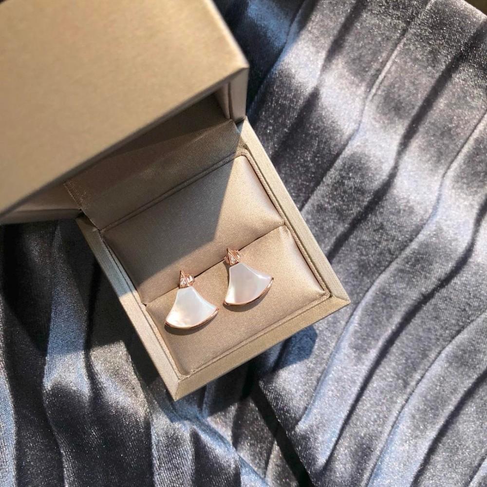 Дизайнерская Роскошная Нержавеющая сталь Неувядающая Индивидуальная Серьга Универсальные женские ушные шпильки