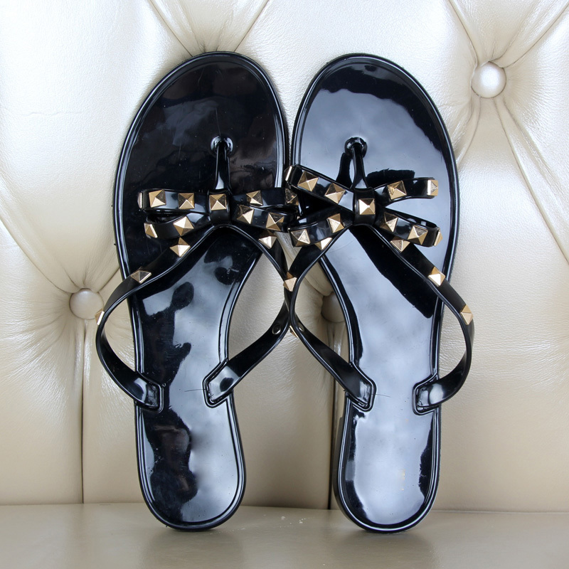 Hot-2017-Fashion-Woman-Flip-Flops-Summer-Shoes-Cool-Beach-Rivets-big-bow-flat-sandals-Brand (2)
