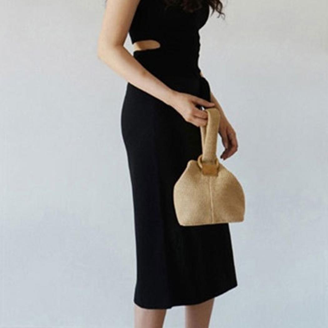 Мода Женщины Повседневная Твердые Открыть Закрытие Сумка Сумка Новый Полиэстер Сумка