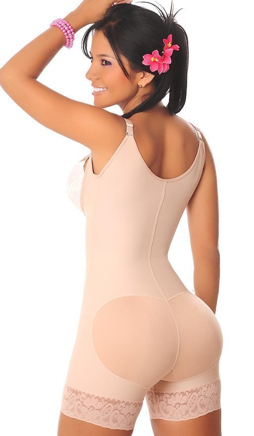 Tummy Control Underbust Bodysuit Shapewear Hot Sexy Butt Lift Shaper Women Corset Slimmer Waist Trainer Firm Plus Size S-6XL (6)