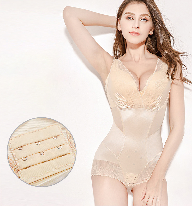 CXZD Women Slimming Underwear Shaper Recover Bodysuits Shapewear Waist Corset Girdle Waist Traine Push Up Vest Tummy Belly Body Shaper Waist Cincher (2)