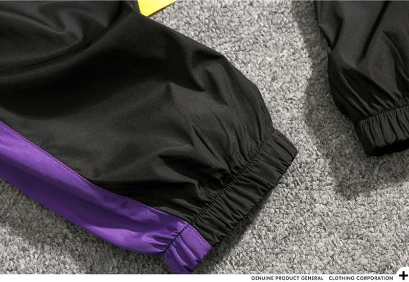 Loose Hip Hop Cargo Pants Men Camouflage Patchwork Harem Mens Trousers Streetwear (42)