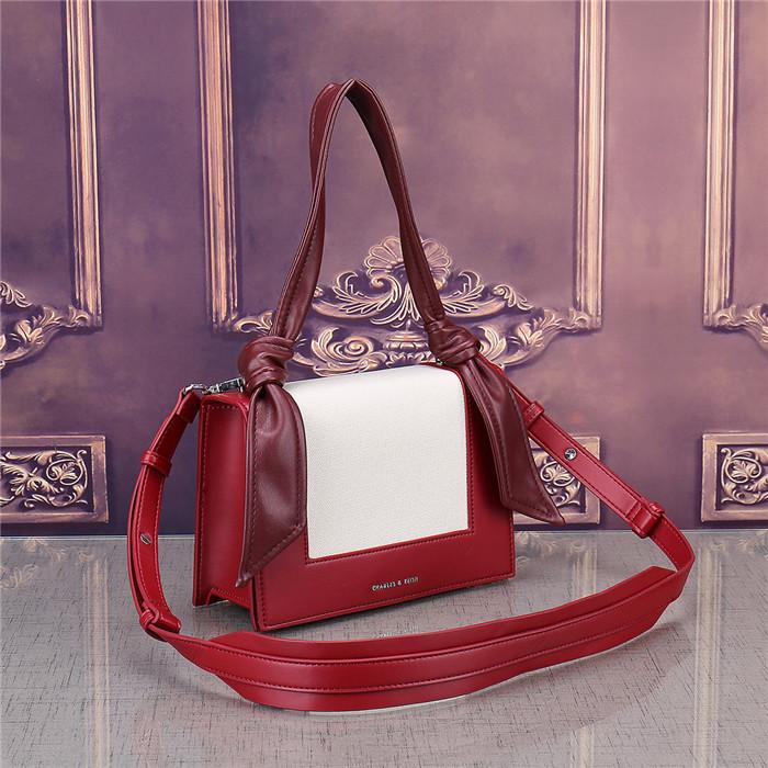 women fashion color matching ribbons handbag small square bag OL business storage diagonal cross briefcase brand shoulder bag