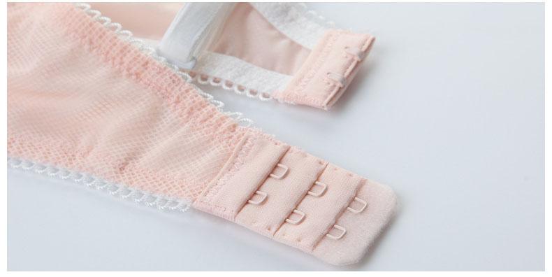 Jerrinut Sexy Lace Lingerie Set Women Underwear Seamless Push Up Bra Set Embroidery Ultra-thin Panties And Bra Set 22