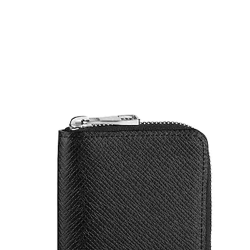 /  men's bag ZIPPY leather embossed hand change coin bag long wallet M30511